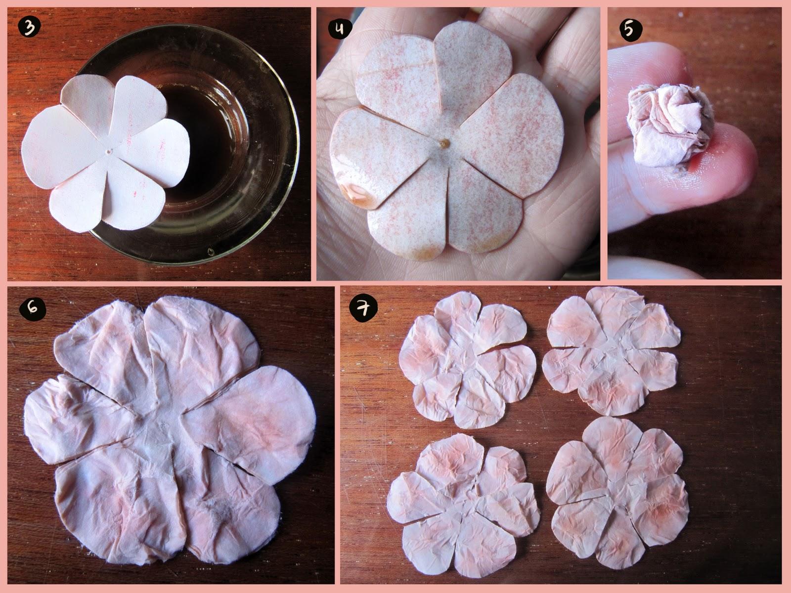 Цветы из офисной бумаги своими руками 455