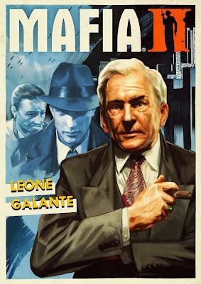 Mafia II poster Leone Galante