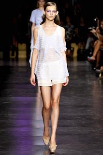 Freizeitkleidung und Anthony Vaccarello Cacharel - Paris Fashion Week Spring - Summer 2012