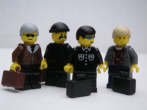 u2 as lego men