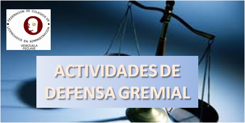 DEFENSA GREMIAL