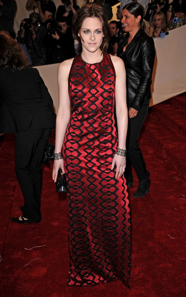 """Kristen Stewart at the """"Alexander McQueen: Savage Beauty"""" Costume Institute Gala held at The Metropolitan Museum of Art on May 2, 2011 in New York City."""