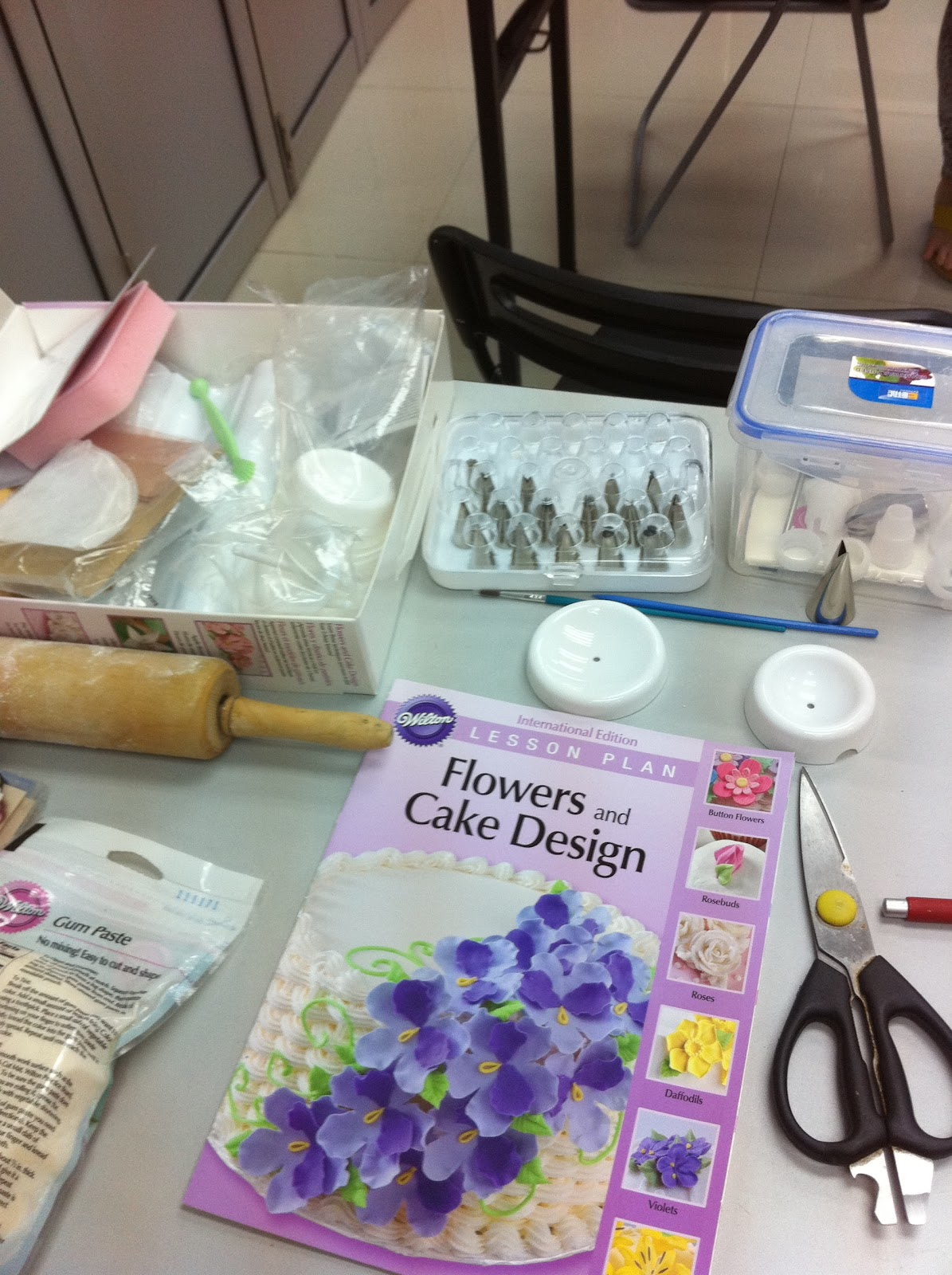 Home May de Cakes: Wilton Cake Decorating Course 2 ...