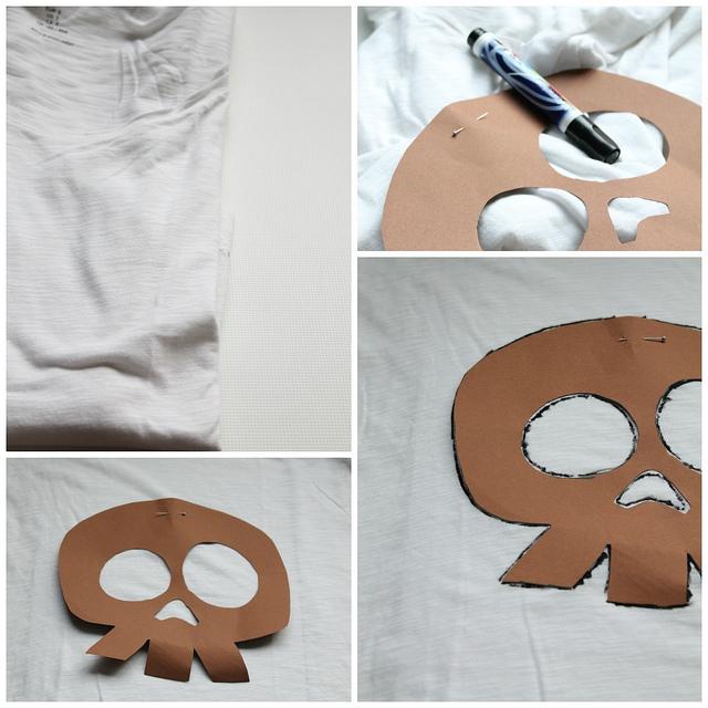 Reciclatex c mo pintar una camiseta con rotulador - Pintar camisetas ninos ...