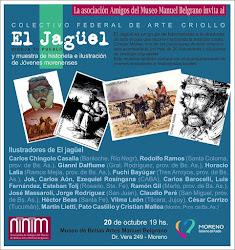 Muestra del grupode Historieta Gauchesca El Jagüel