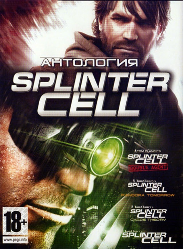 TOM CLANCY'S SPLINTER CELL ANTHOLOGY-REPACK