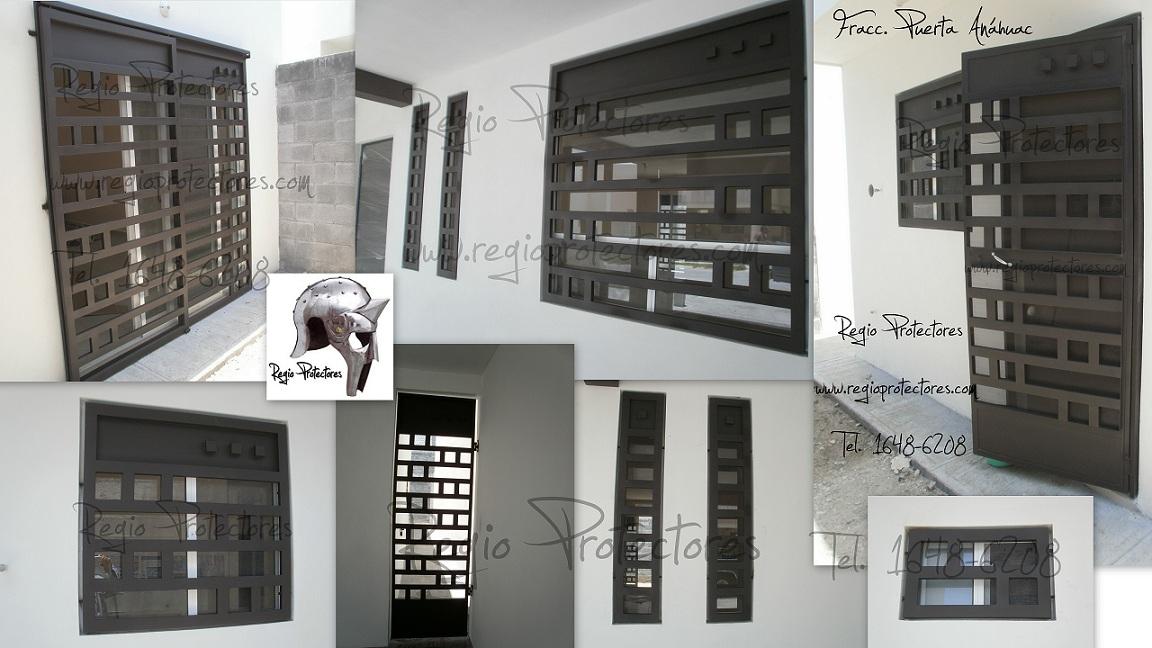Protectores para ventanas y puertas, Fracc. La Puerta Anáhuac