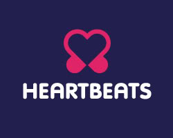 Makna Tersembunyi dari 40 Logo Terkenal di Dunia: Logo Heart Beats