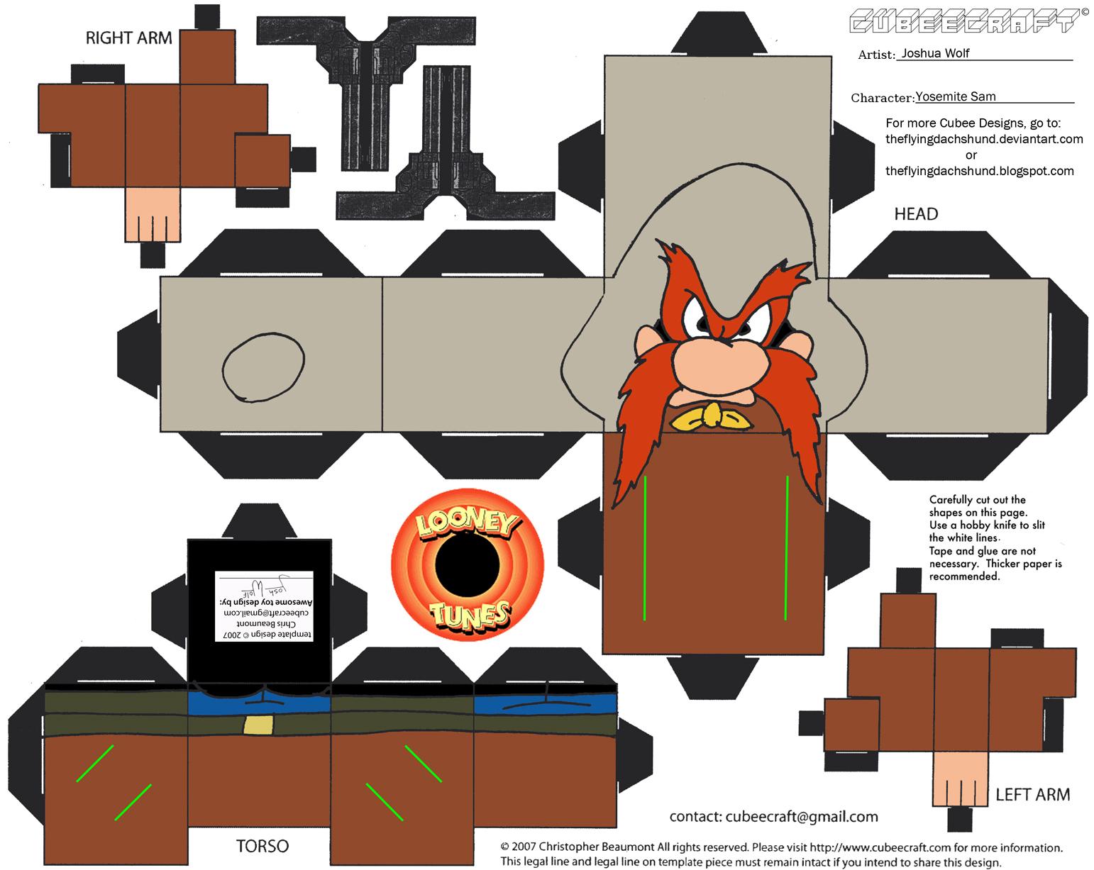 De Cubeecraft Y Algo Ms Looney Tunes