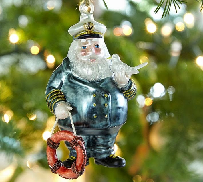 Nautical Ornament of the Week: Pottery Barn