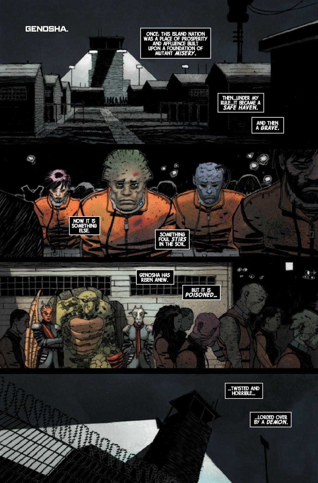 Magneto 9 AXIS Cullen Bunn Bariel Walta Marvel