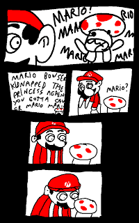 funny super mario tripping shrooms comic