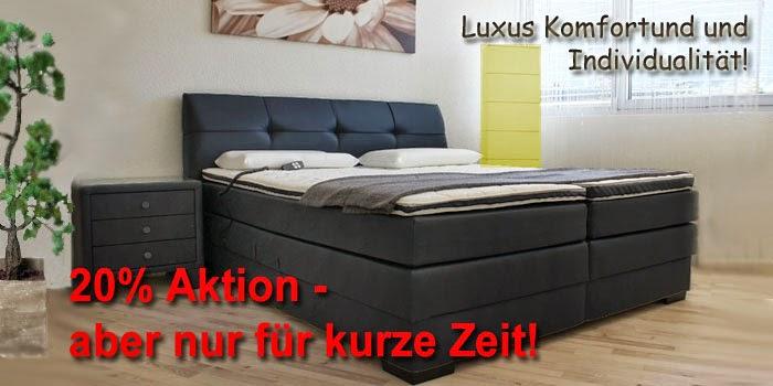 Ihr neues Boxspringbett für mehr Luxus Komfort und Individualität!
