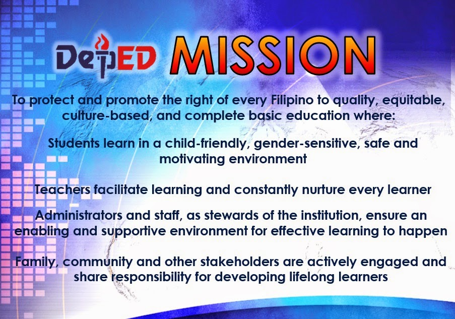 values education philippines Usaid's programs in education likewise address the constraint of human capacity to strengthen human capital formation, usaid works with partners to improve the quality of both basic and higher education services across the country.