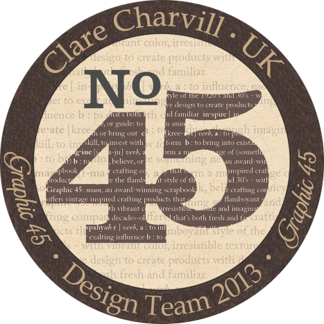 A Graphic 45 Design Team Member 2012 & 13