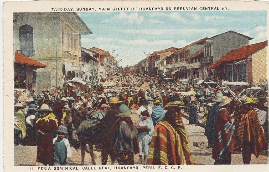 Calle Real, Feria dominical 1937