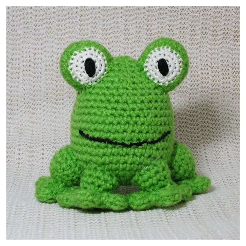 Kawaii Frog Amigurumi : chibitude: Amigurumi Frog