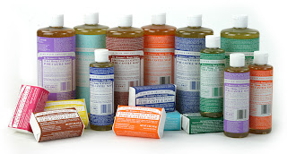 Dr.Bronner soaps