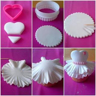 Cupcakes para Niñas, Reposteria Facil