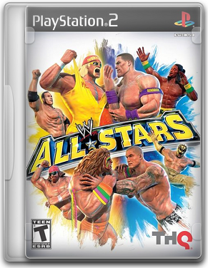Capa WWE All Stars   PS2