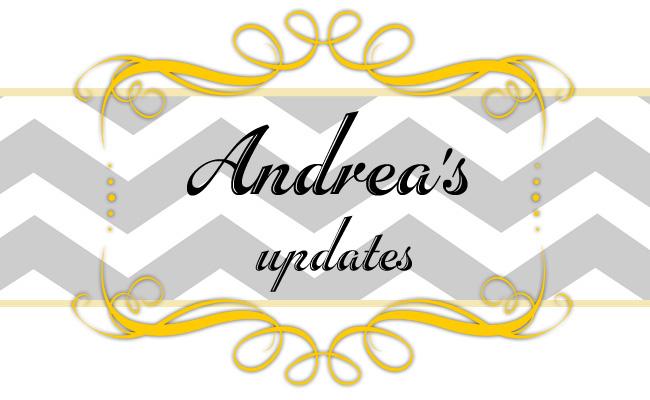 Andrea's Updates