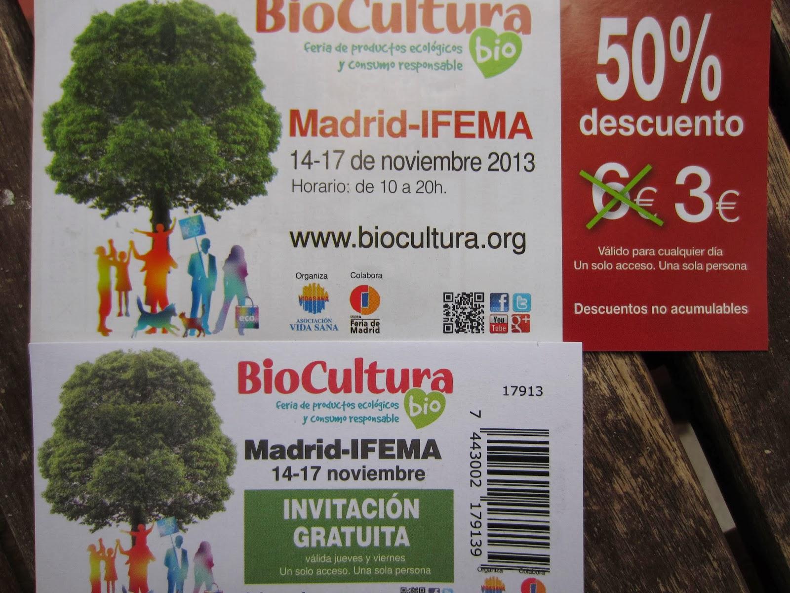 Jabón al Natural te regala entradas para biocultura