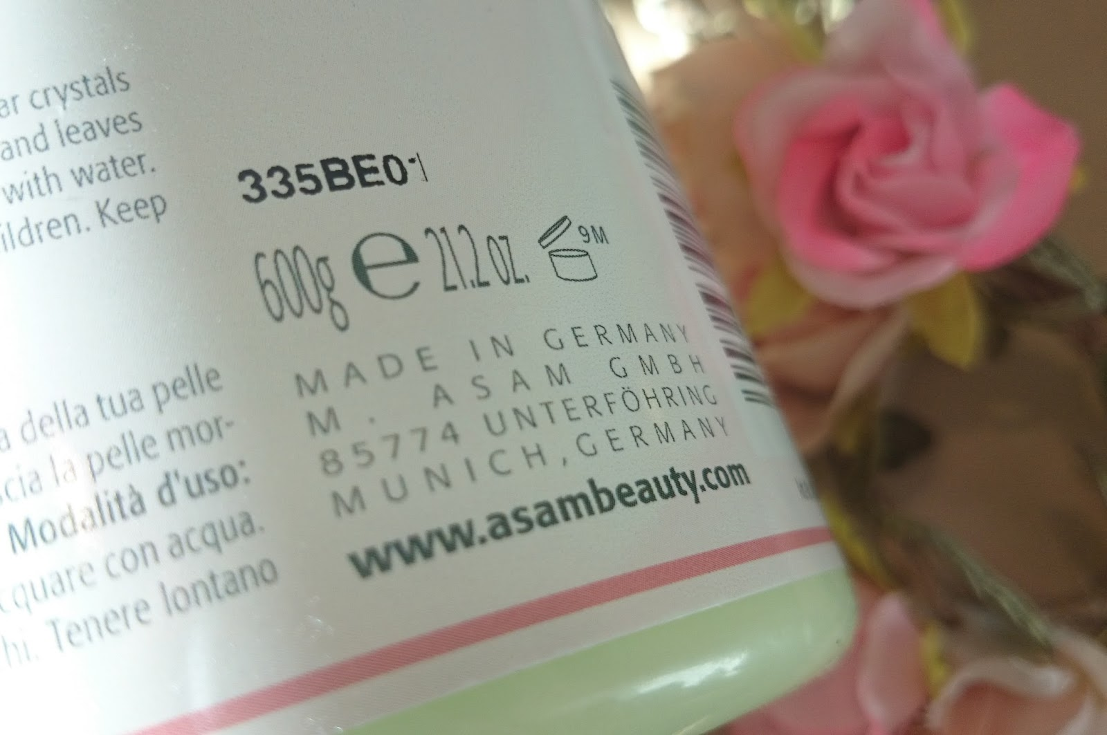 Produkttest M. Asam Dreams of Roses Peeling