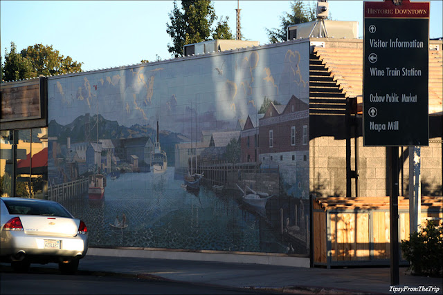 Napa River mural, Napa