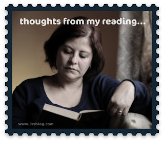 """Thoughts From My Reading"" theme icon www.3rsblog.com"