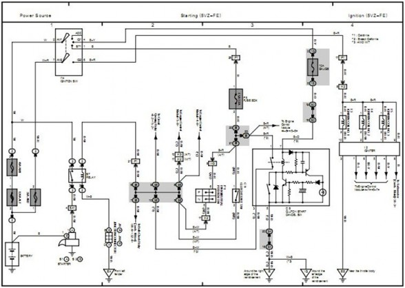 2006 Toyota Ta a Wiring Diagrams on toyota wiring diagrams schematics