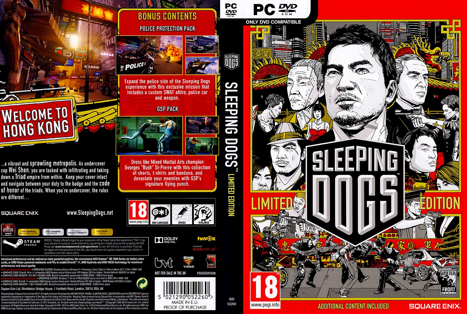 sleeping dogs limited edition crack
