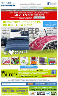 Click to view this July 21, 2011 Bed Bath & Beyond email full-sized