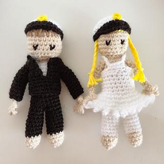 virka studentpresent pojke flicka docka crochet student present inspiration