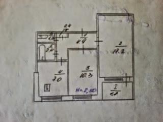 Продажа 2-комнатной квартиры 3/9 эт. дома по ул. Пушкина, 39 с ремонтом