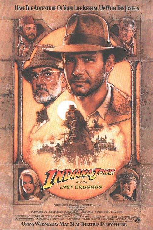 Indiana Jones Last Crusade poster