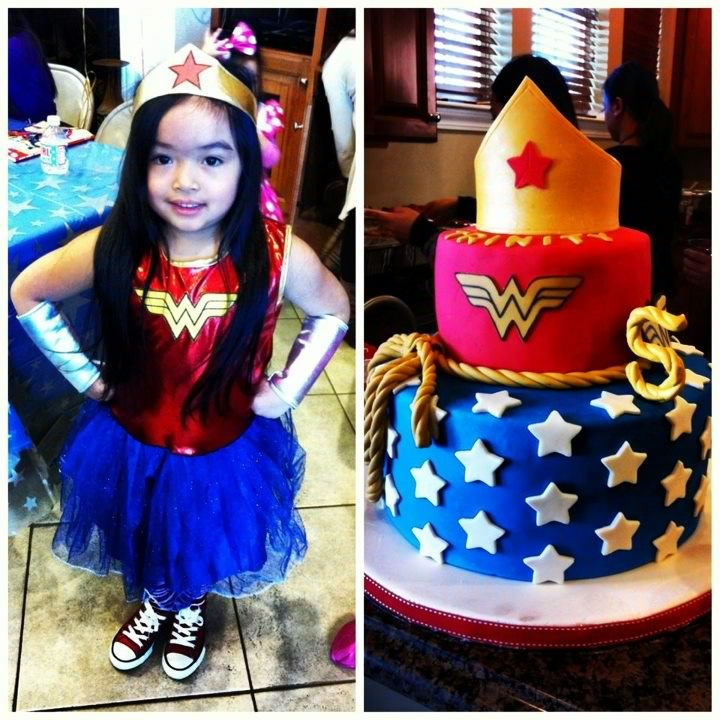 Cakes By Hotkist Wonder Woman Birthday Cake