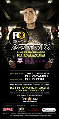DJ Astrix live show in Bangalore