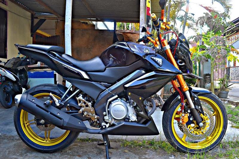 Gambar Modifikasi Motor Yamaha New Vixion Lightning title=