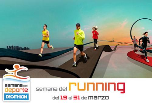 Semana del running en Decathlon
