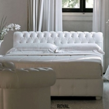 Consigli per la casa e l 39 arredamento idee per imbiancare una camera con letto bianco e - Letto in pelle bianco ...