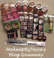 MakeupByJoye Giveaway