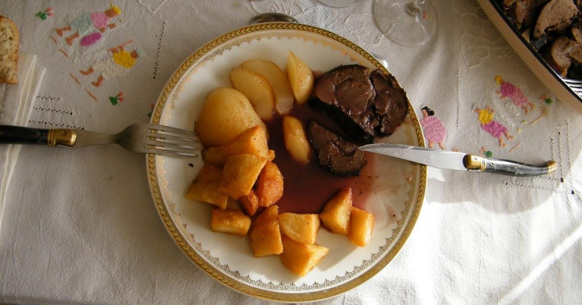 le blog de sylvie barbaroux recette du cuissot de chevreuil sauce grand veneur. Black Bedroom Furniture Sets. Home Design Ideas