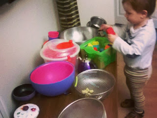 Bir Annenin Blogu - Mutfak gereçleri artık Deniz'in