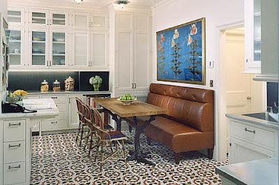 Aye que linda 1920 39 s kitchen for 1920 kitchen floor tile