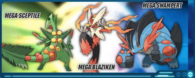 web oficial de Pokémon Rubí Omega y Pokémon Zafiro Alfa