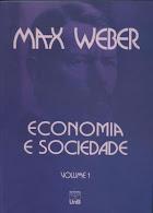 """Max Weber.""""Economia e sociedade"""" (volumes 1 e 2)."""