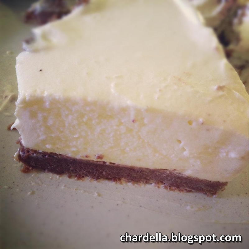 StellaClaire's Blog: No-Bake Cheesecake