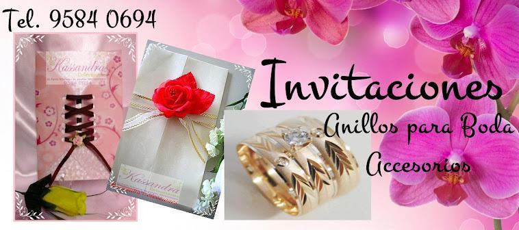 Invitaciones para Boda de KASSANDRA Colecciones