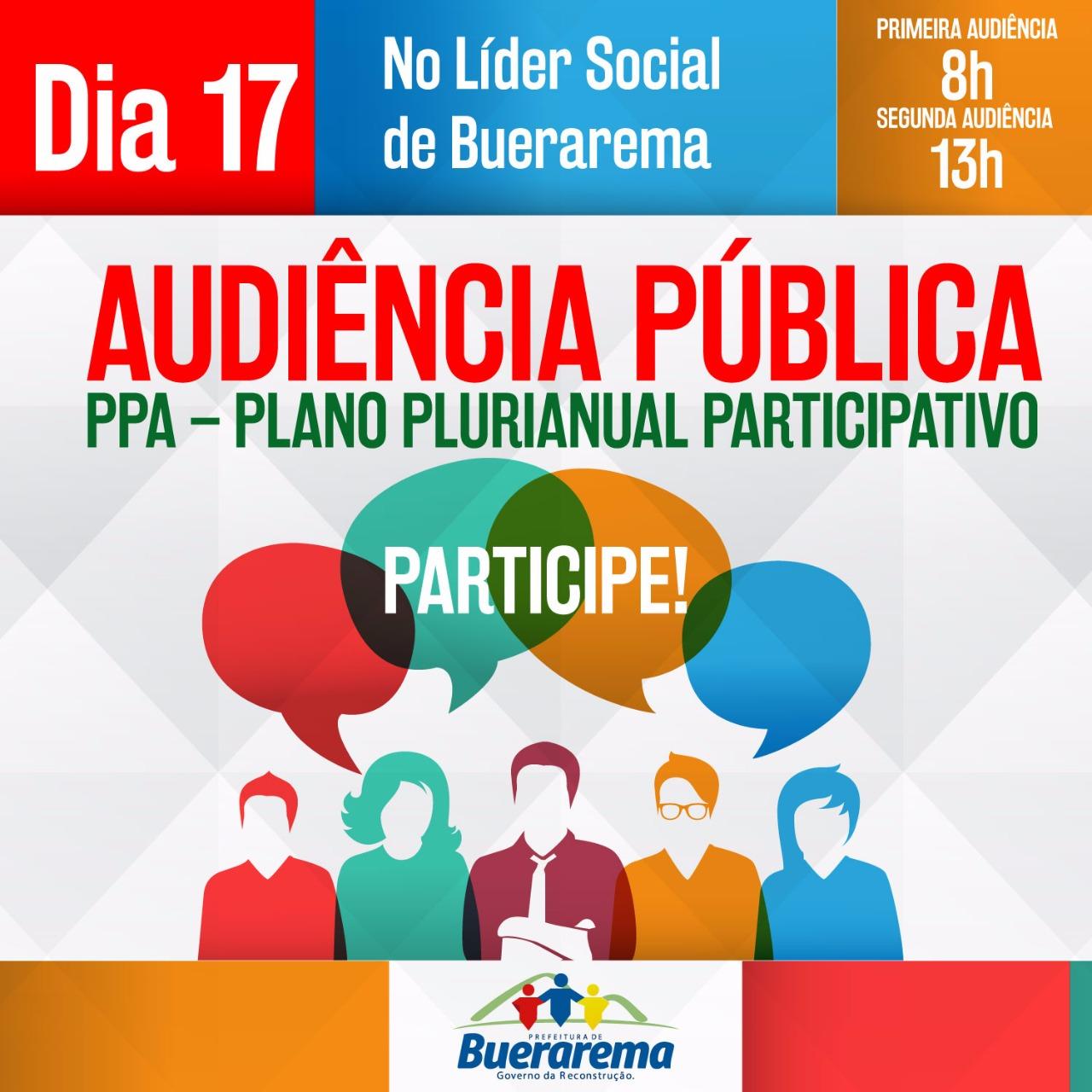 Audiência Pública de Buerarema