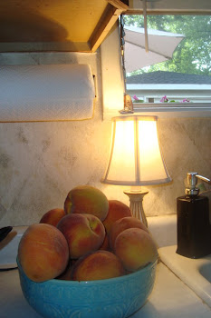 Summer Peaches in the Dunham Kitchen